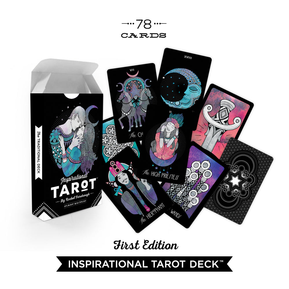 Inspirational Tarot Deck + Guidebook