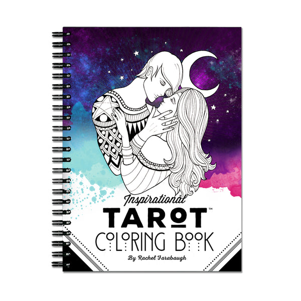 Inspirational Tarot Coloring Book