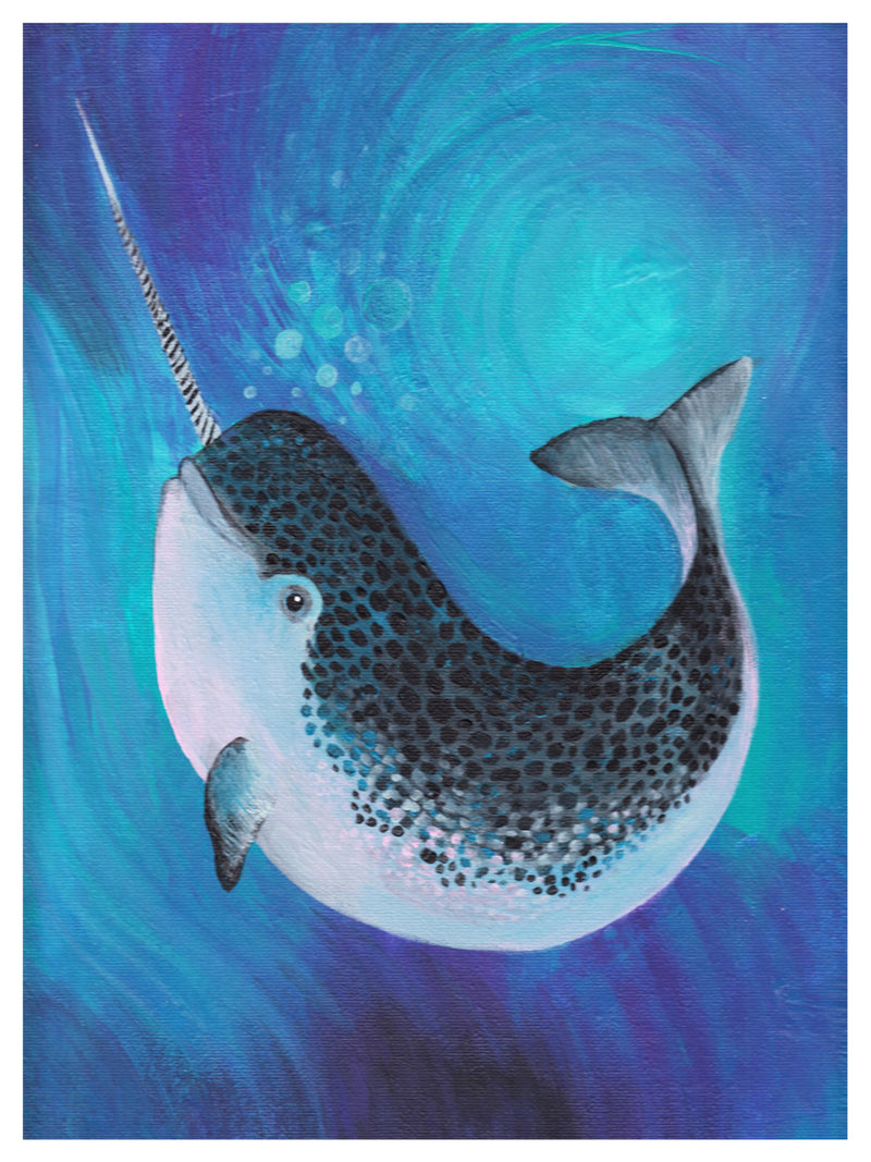 Narwhal Print