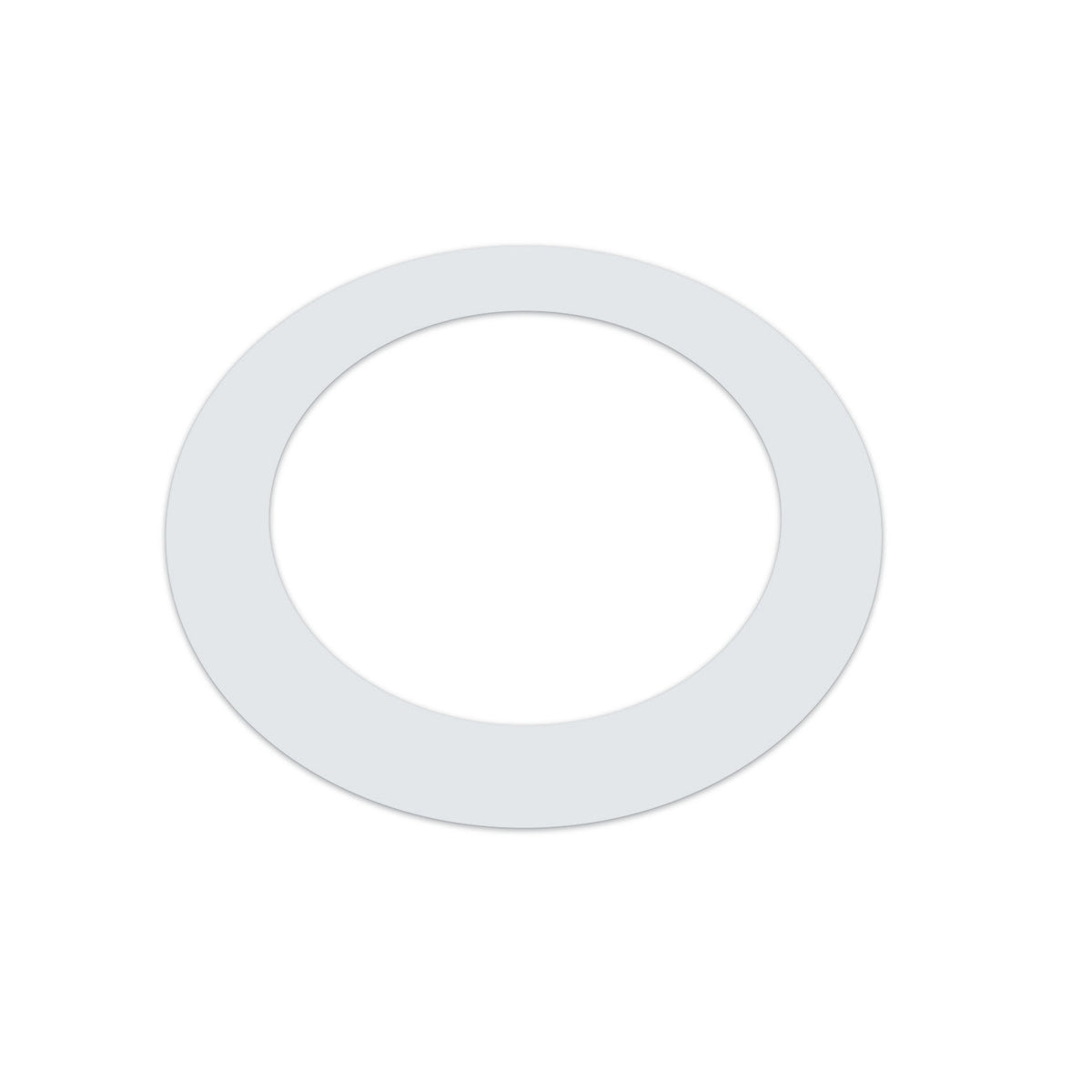 Kickport TRGWH White T-Ring Bass Drum Template/Reinforcement Ring