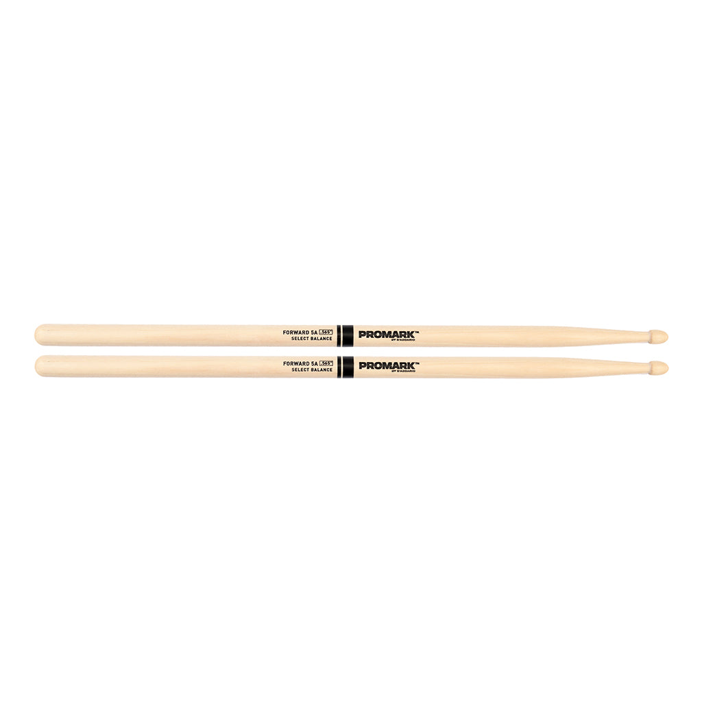 "Promark FBH565AW Forward 5A .565"" Hickory Acorn Wood Tip Drumsticks"
