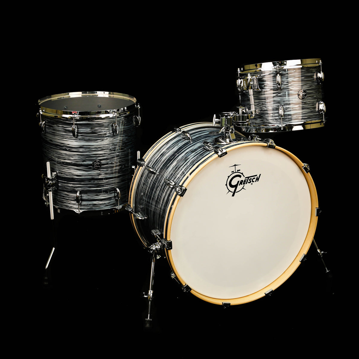 Gretsch Renown 13/16/24 Shell Pack Silver Oyster Pearl