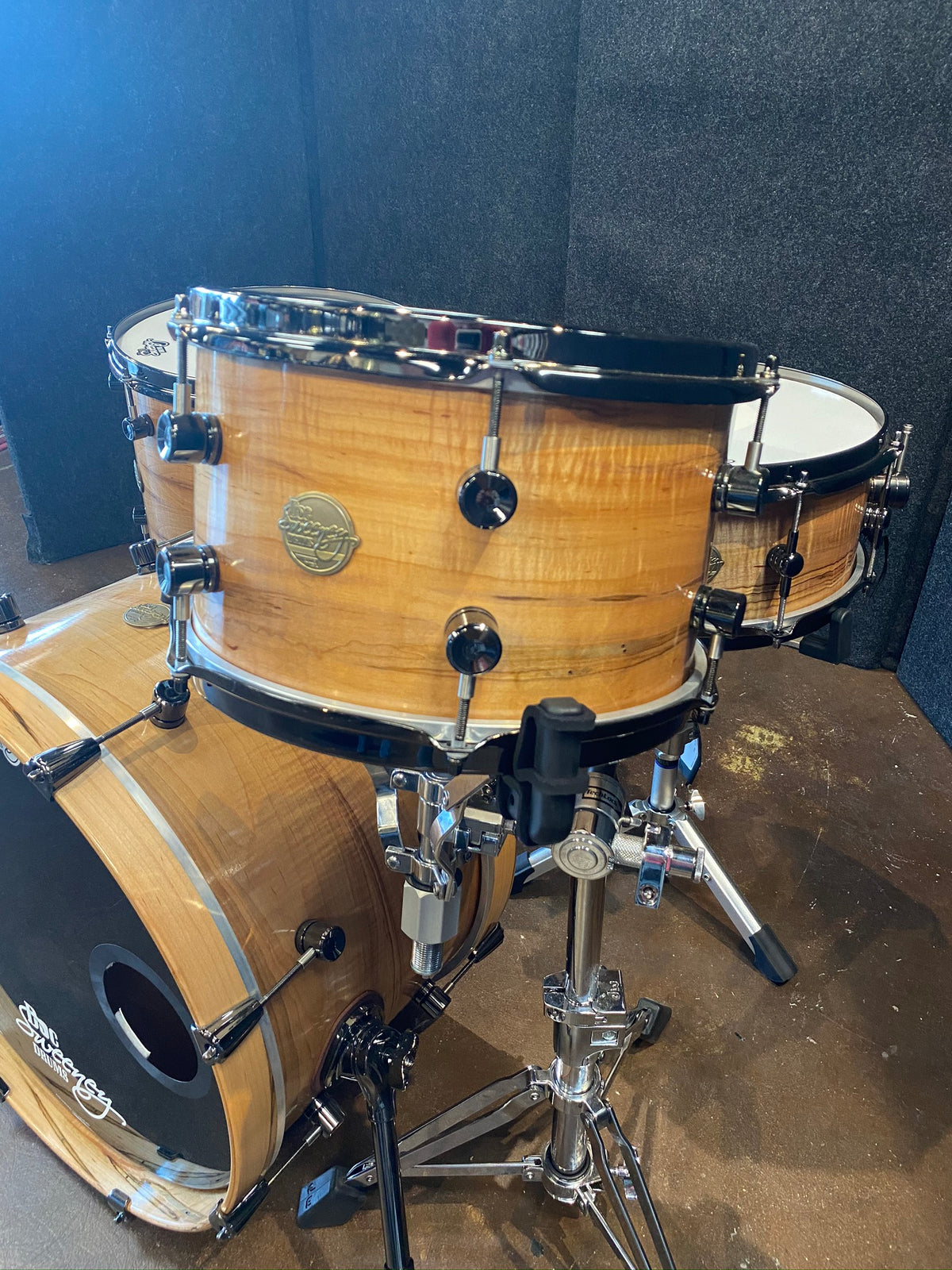 Doc Sweeney Steam-Bent Ambrosia Maple 12/14/20/14 - Floor Model