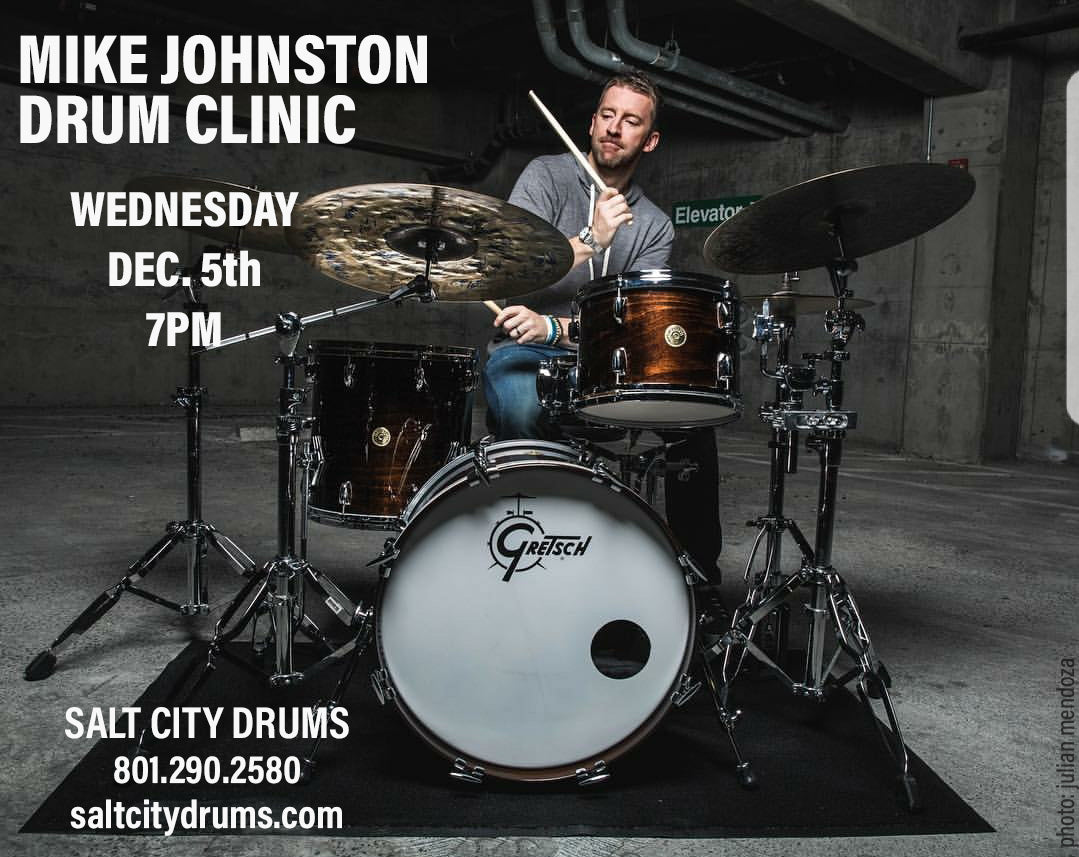 Mike Johnston Drum Clinic