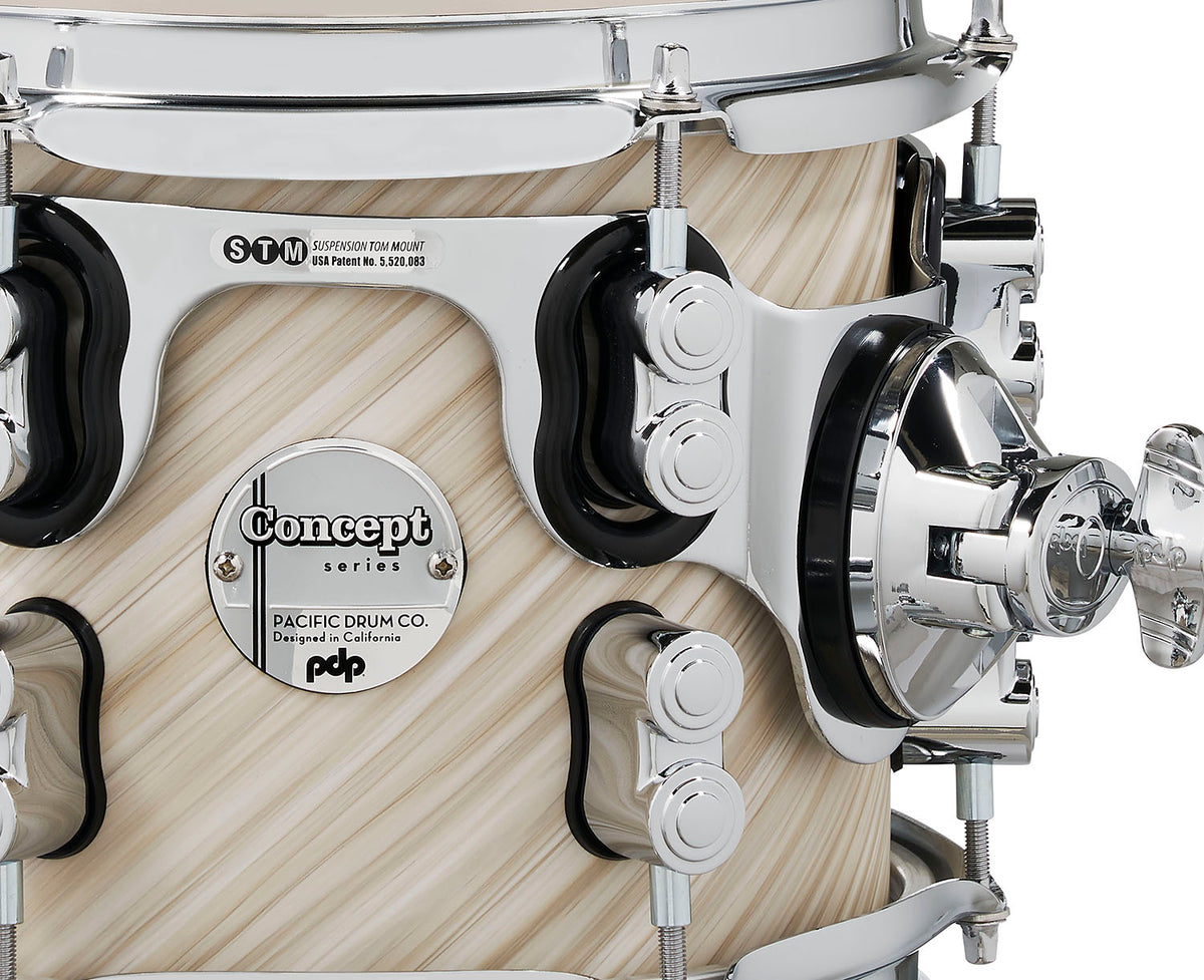 PDP PDCM2215TI Concept Maple 5pc Shell Kit Twisted Ivory