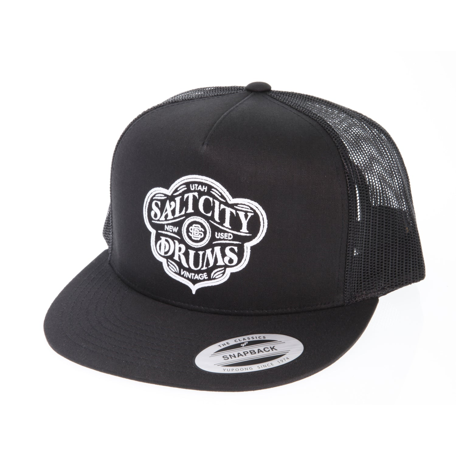 Salt City Drums SCD50 Classic Snapback Trucker Hat
