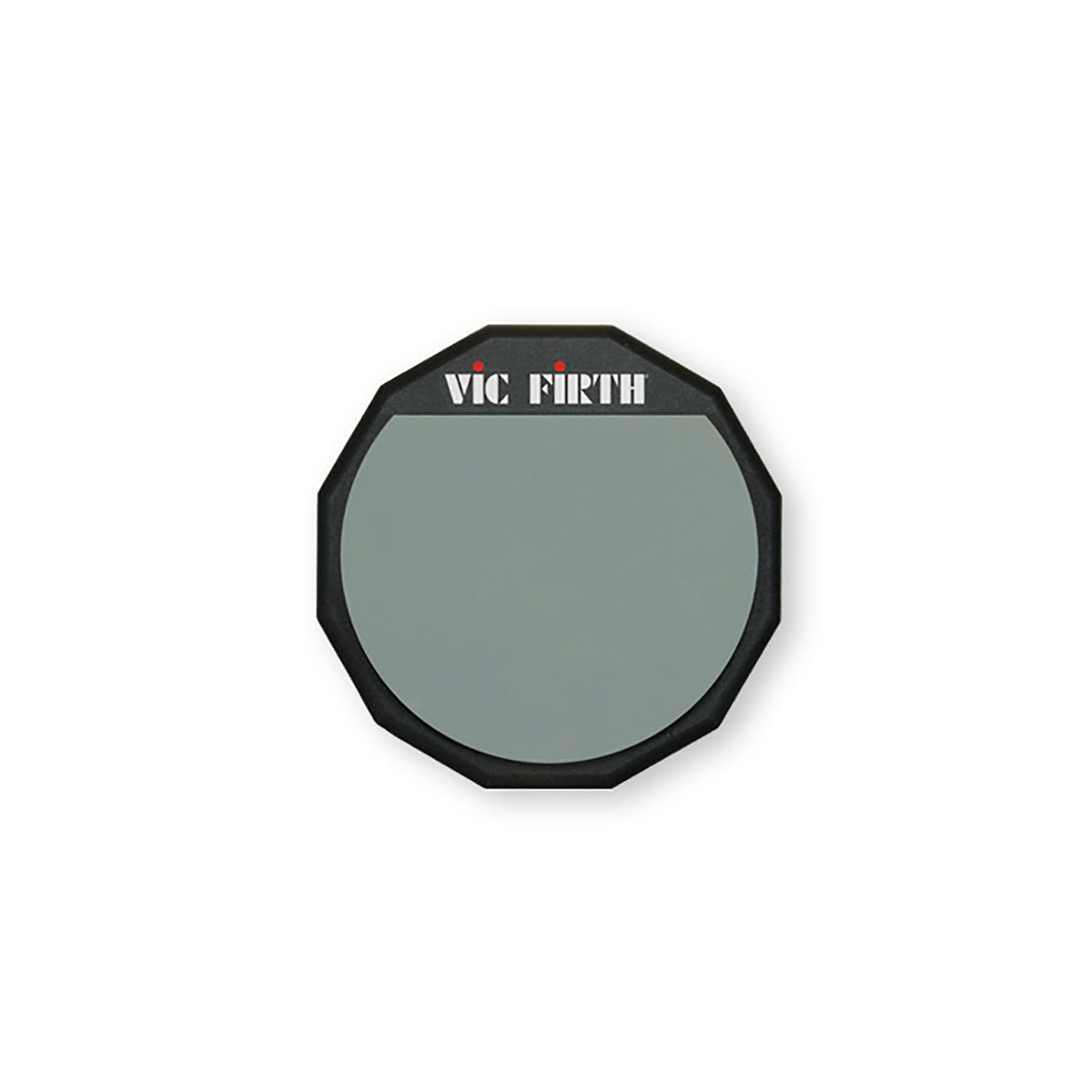 "Vic Firth PAD6 6"" Single Sided Soft Rubber Practice Pad"