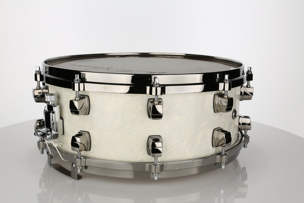 Yamaha JR Robinson Custom Model 5.5x14 Snare Drum - Autographed #0001