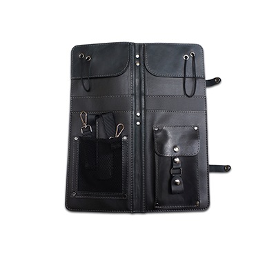 AHEAD ALSCBLK BLACK HANDMADE LEATHER STICK CASE