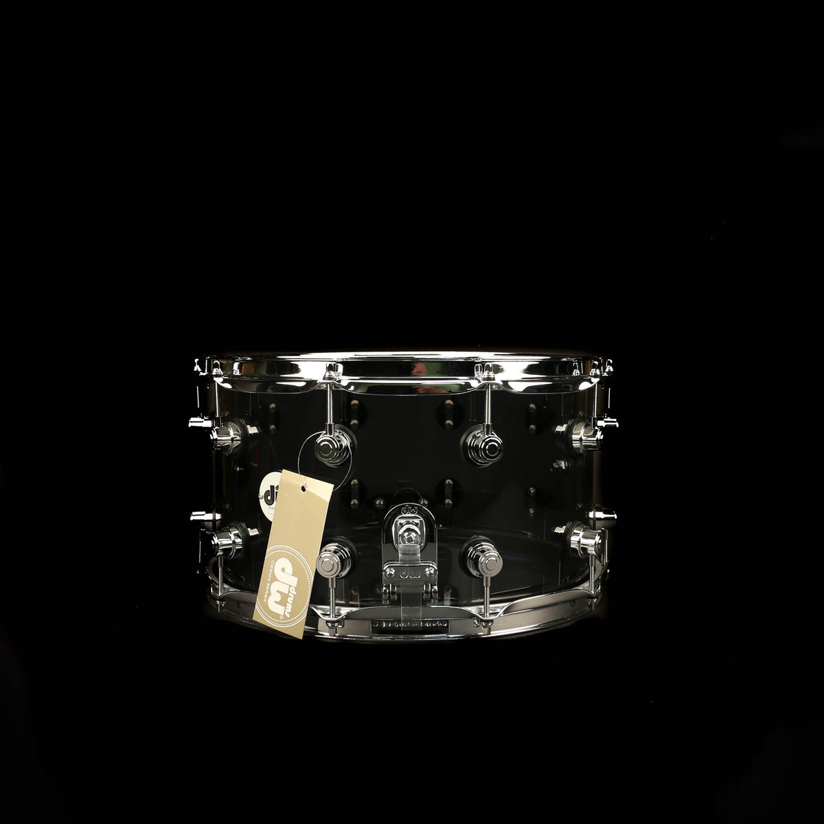 DW DDAC0814SSSM Ltd Edition Design Series Snare 8x14 Smoke Acrylic Snare Drum