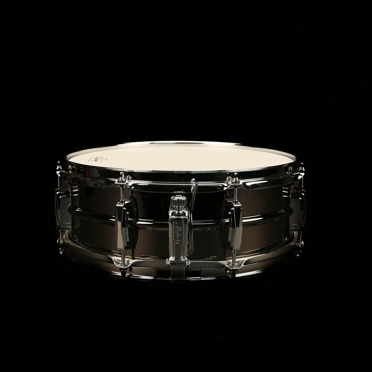 Ludwig LB414 5x14 8-Lug Black Beauty Snare Drum
