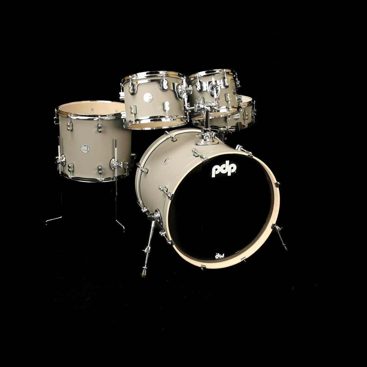 PDP PDCM2215SP Concept Maple 5pc Shell Kit Satin Pewter
