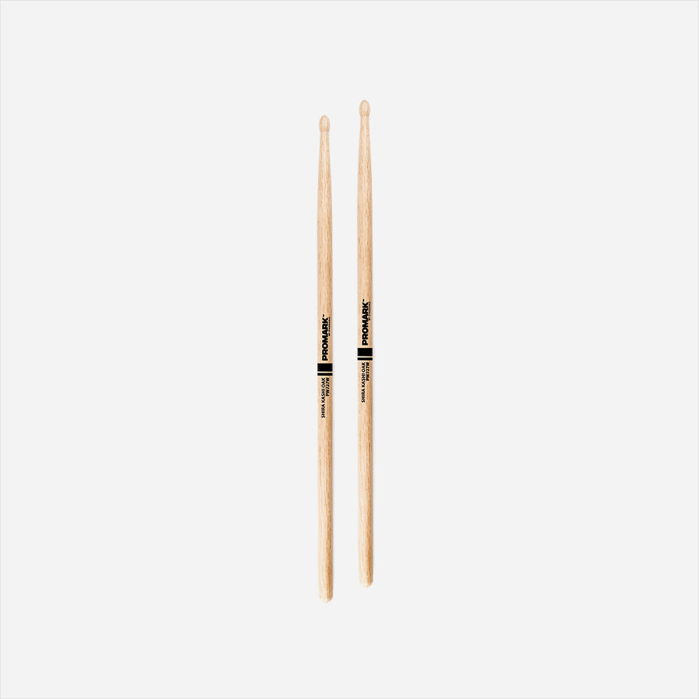 Promark PW727W Shira Kashi Oak Drumsticks 727 Wood Tip