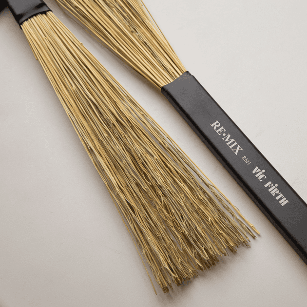 Vic Firth RM1 RE-MIX Broomcorn Brushes