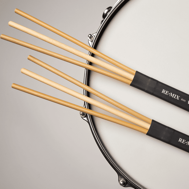 Vic Firth RM4 RE-MIX Rattan/Birch Brushes