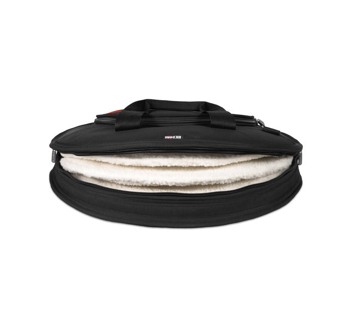 "Ahead AR6023RS 24"" Deluxe Heavy Duty Cymbal Case w/ Padded Tuck-Away Shoulder Straps"