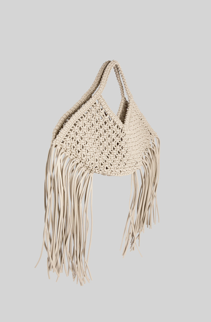 Small Woven Basket - Off White