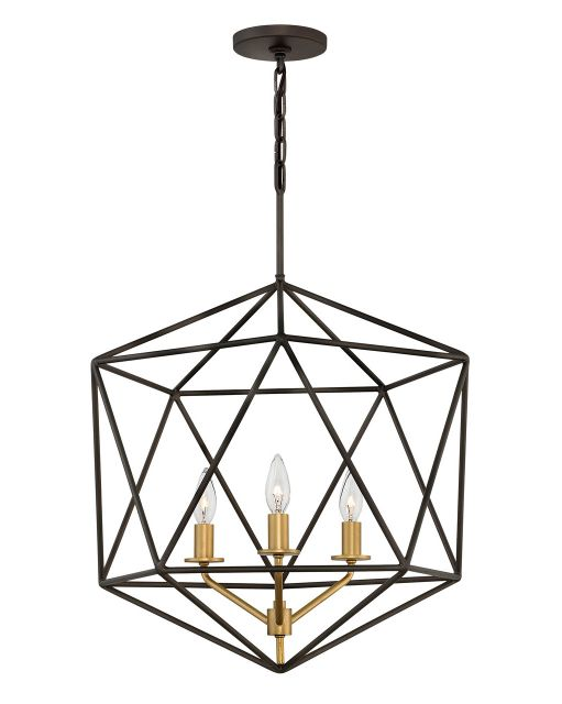 Decolight Astria 3 light  Chandelier Pendant Ceiling Light - Decolight Ltd