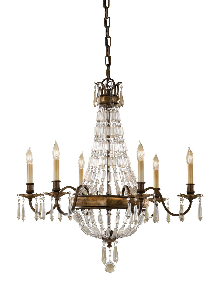 Decolight Constance  6 Light Chandelier