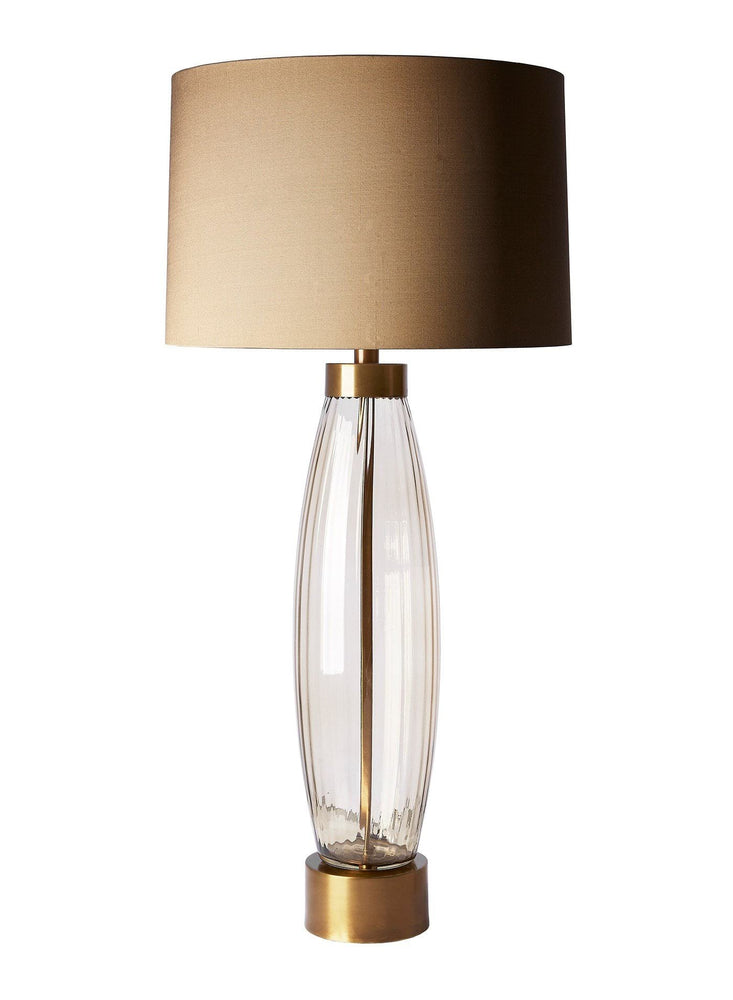 Heathfield Addison Smoke Glass Table Lamp