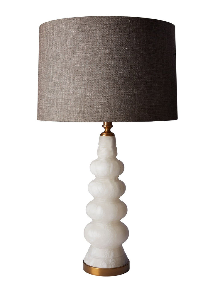 Heathfield & Co Blanca Alabasta Table Lamp