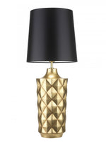 Heathfield Herzog Gold Patina Table Lamp