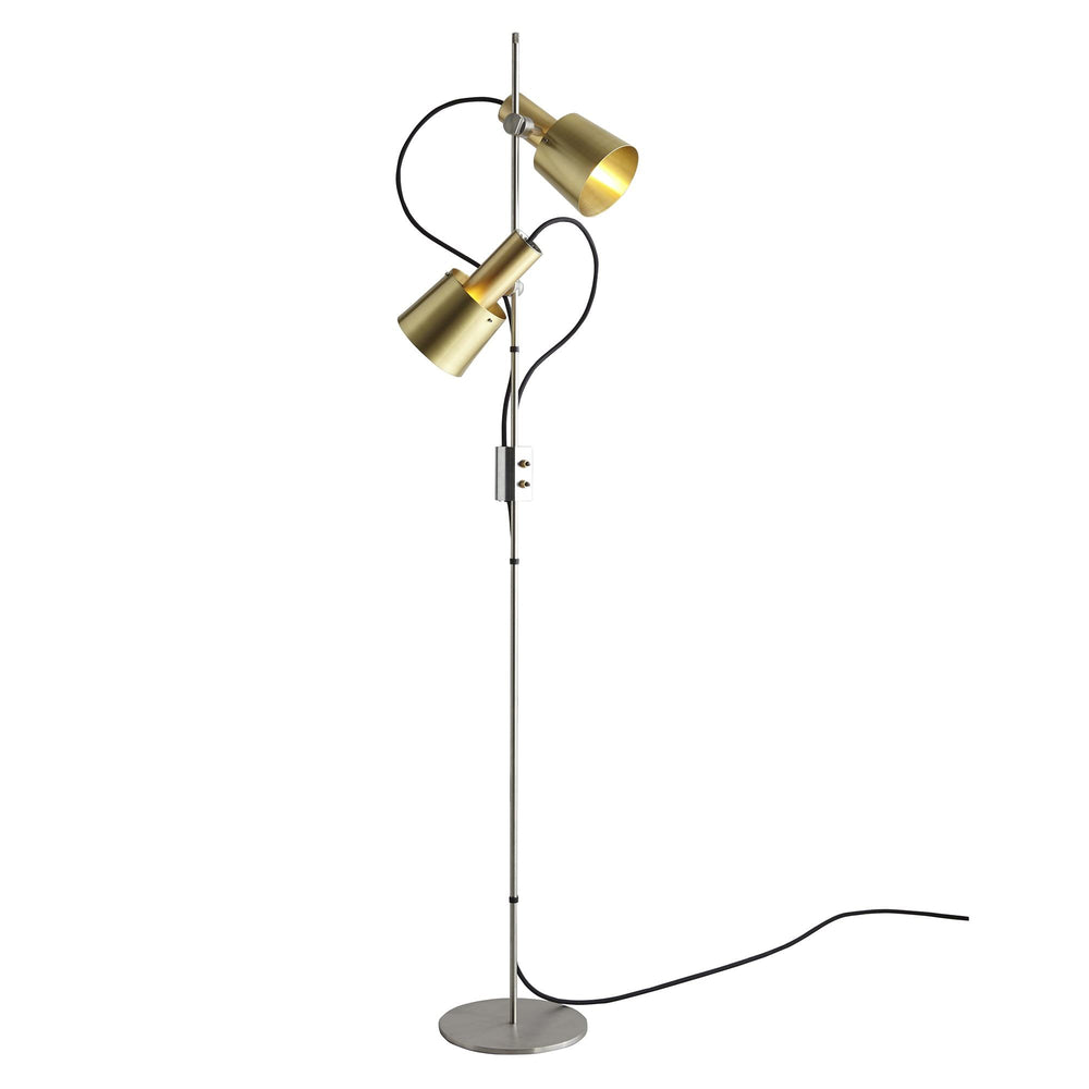 Original BTC Chester Floor Lamp Brass
