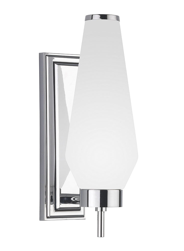 Decolight Heathfield & Co Alerion Bathroom Light  DLHLB WL-ALRN-CHRO-OPAL  | Decolight ltd
