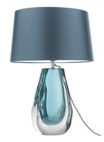 Heathfield & Co Anya Peacock Blue Table Lamp