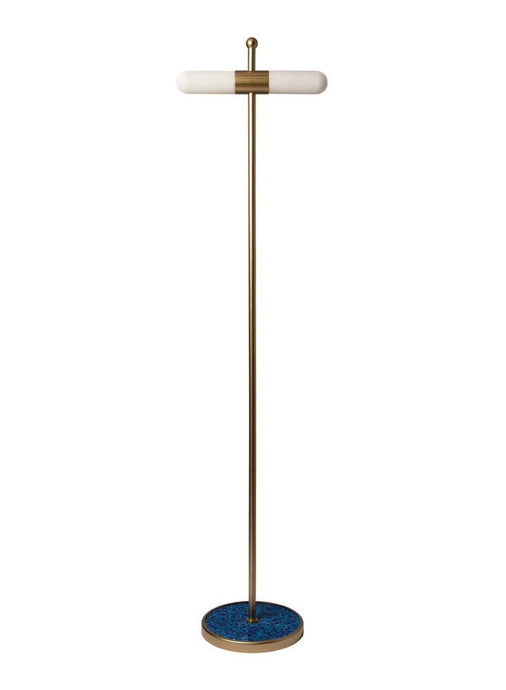 Decolight Heathfield & Co Azzero Floor Lamp FL-AZER-RGLD-COBL