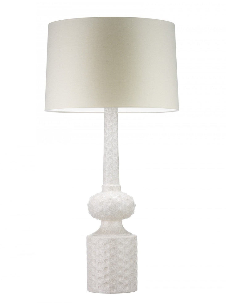 Heathfield & Co Babylon Ivory Crackle Table lamp