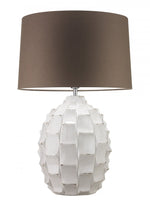 Heathfield & Co Bayern Ivory Ceramic Table Lamp