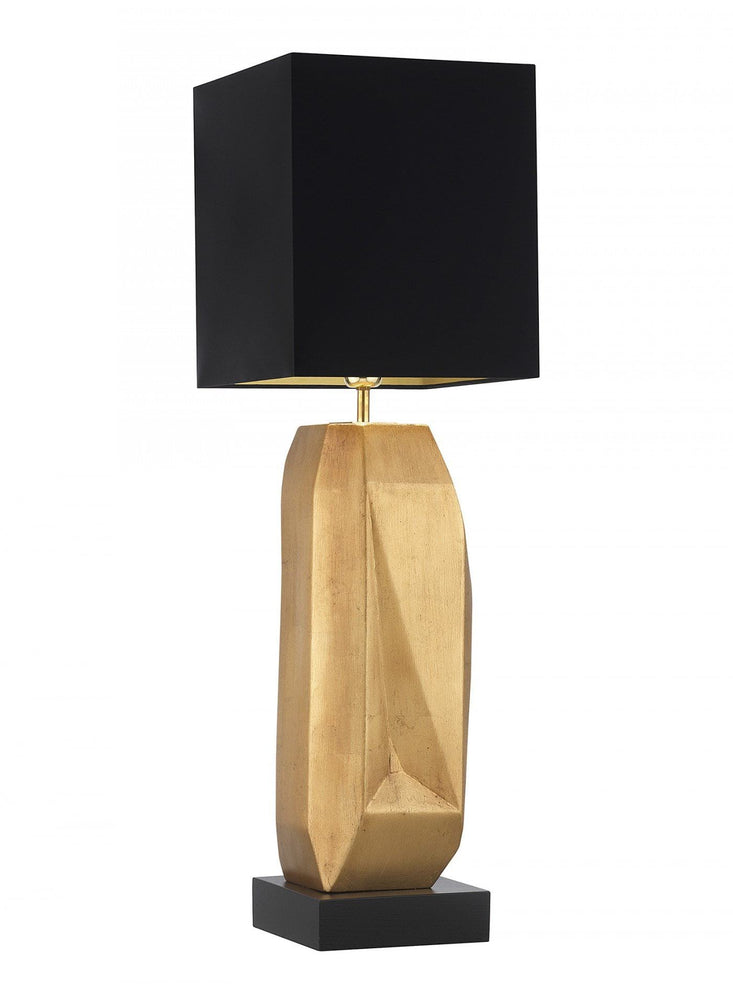 Heathfield & Co Behrens Gold Leaf Table Lamp - Decolight Ltd