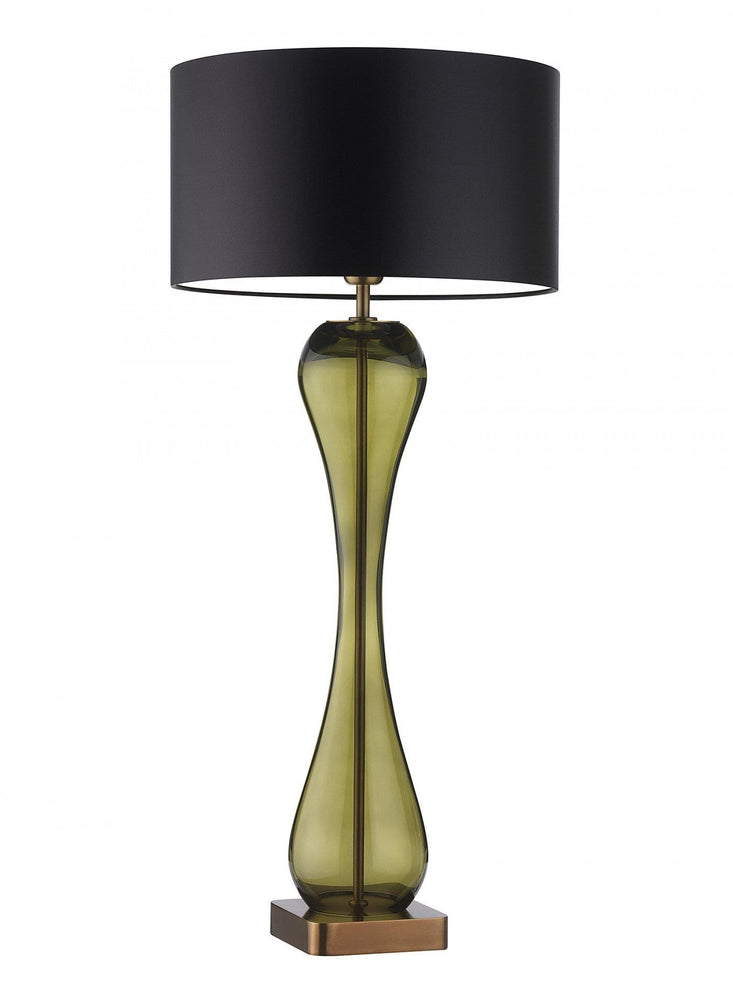 Heathfield Mirande Olive Table Lamp - Decolight Ltd