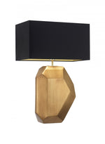 Heathfield Renwick Gold Leaf Table Lamp - Decolight Ltd