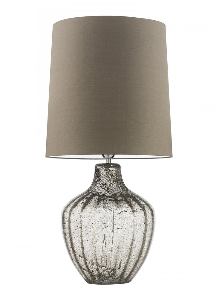 Heathfield Vivienne Large Clear Table Lamp - Decolight Ltd