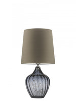 Heathfield Vivienne Medium Smoke Table Lamp