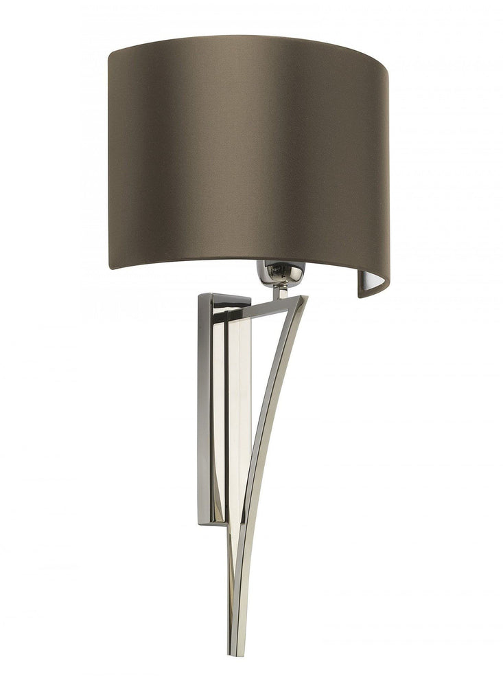 Heathfield Yves Nickel Wall Light