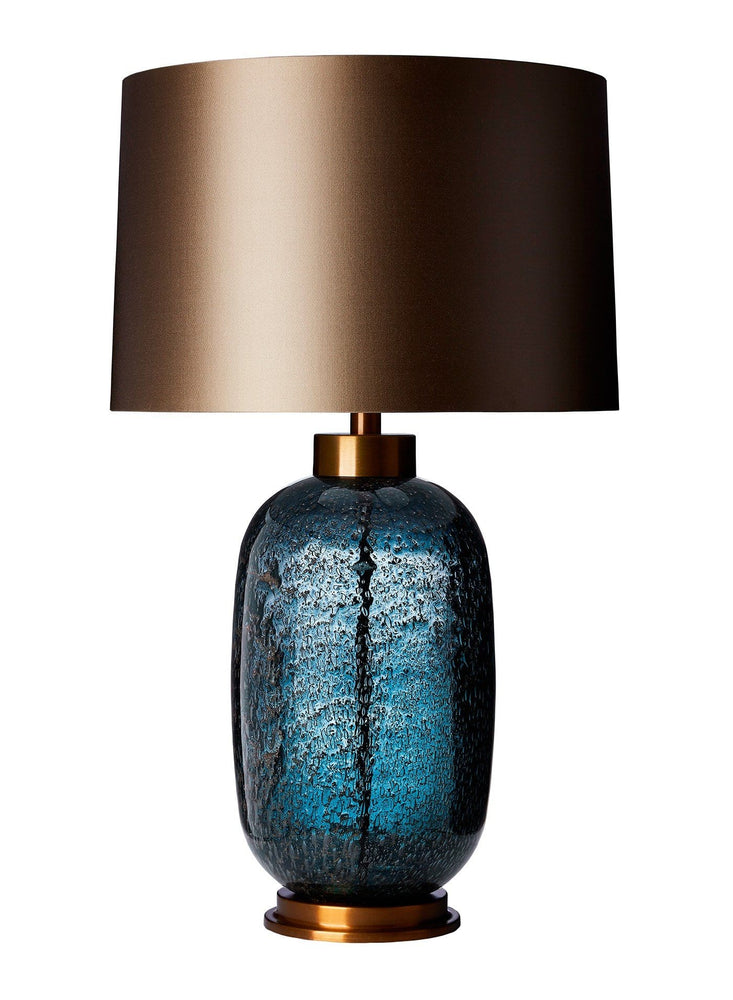 Zoffany Amelia Midnight Blue Large Table Lamp - Decolight Ltd