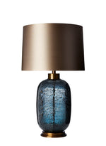 Heathfield Zoffany Amelia Midnight Blue  Medium Table Lamp