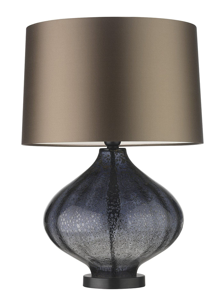 Zoffany  Fiametta Smoke Blue Table Lamp - Decolight Ltd