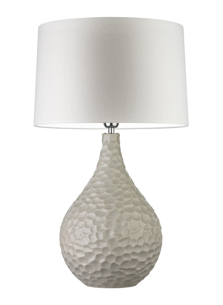 Zoffany Novella Chalk Table Lamp by Heathfield | Decolight