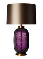 Heathfield & Co  Zoffany Amelia Claret Large Table Lamp - Decolight Ltd