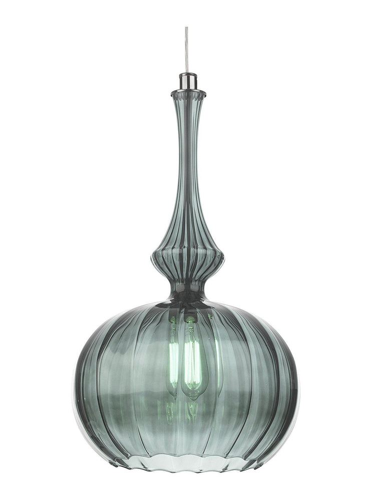 Heathfield & Co Zola Opal Jade Ceiling  Pendant Light