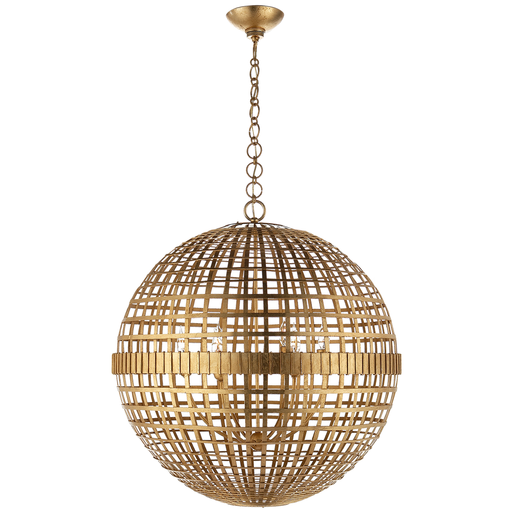AERIN Mill Ceiling Pendant  Light Gold