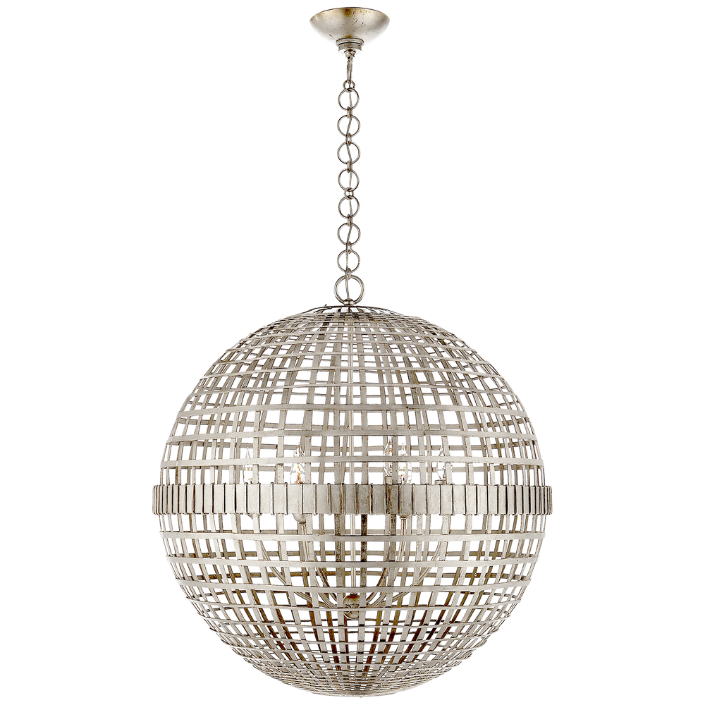 AERIN Mill Ceiling Pendant Light Silver