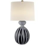 AERIN Garnnet Table Table Lamp Drizzled Cobalt - Decolight Ltd