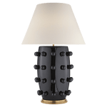 Kelly Wearstler Linden Black Table Lamp Large