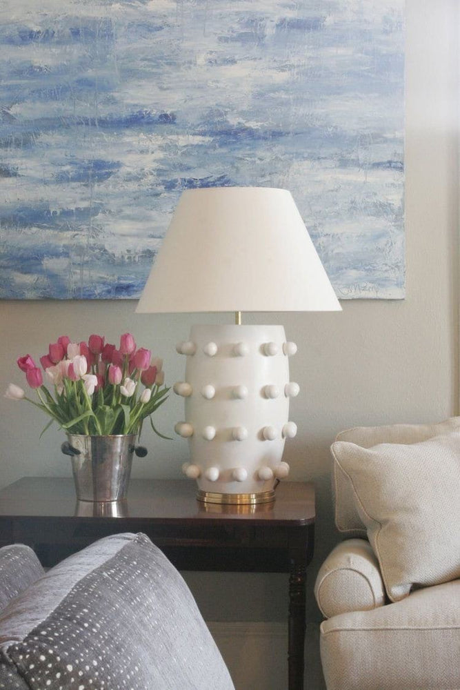 Kelly Wearstler Linden White Table Lamp Large