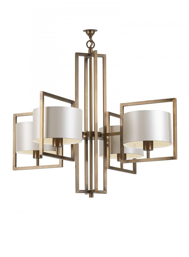 Heathfield Conniston Pendant Ceiling Light Antique Brass